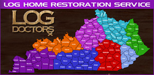 Log Home Repair Kentucky