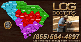 South Carolina Log Home Repair